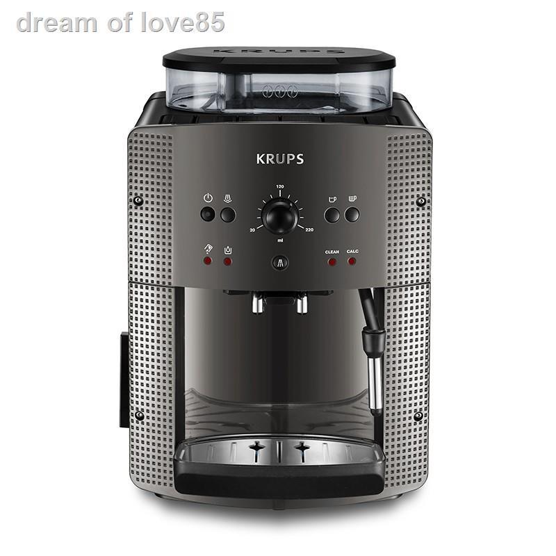 100 % จัดส่งรุ่นล่าสุดของปี 2021 รับประกัน ☃KRUPS เครื่องชงกาแฟเครื่องชงกาแฟเอสเพรสโซเครื่องชงกาแฟอัตโนมัติบดสดรวมทำควา