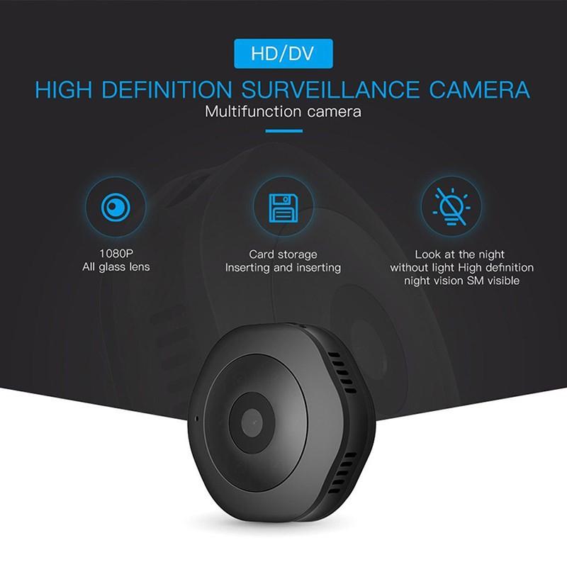 H6 1080P DV//WIFI Mini Hidden SPY Camera Motion Detection Video Cam Night Vision