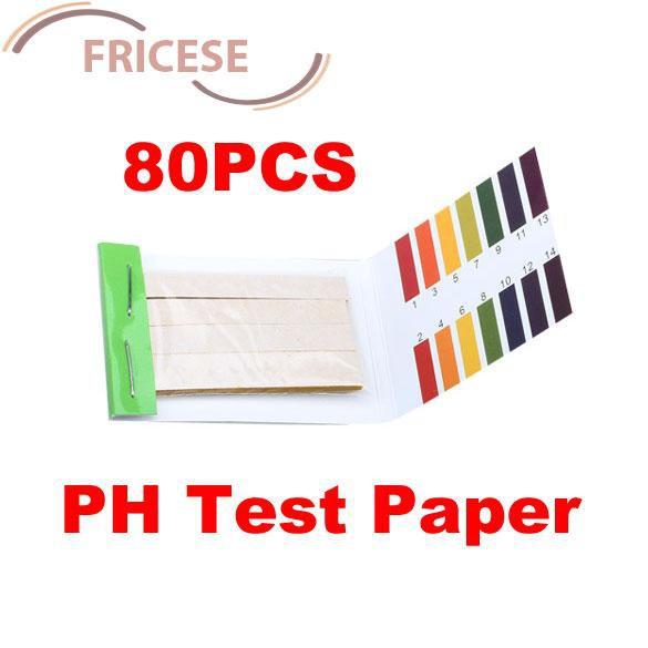 Autone 80 Strips Full pH 1-14 Test Indicator Paper Litmus Testing Kit