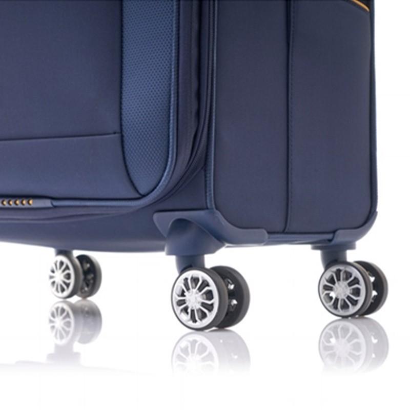 SAMSONITE กระเป๋าเดินทางล้อลาก รุ่น CROSSLITE ขนาด 28 นิ้ว SOFTSIDE SPINNER 76/28 EXP TSA LOCK rWMG