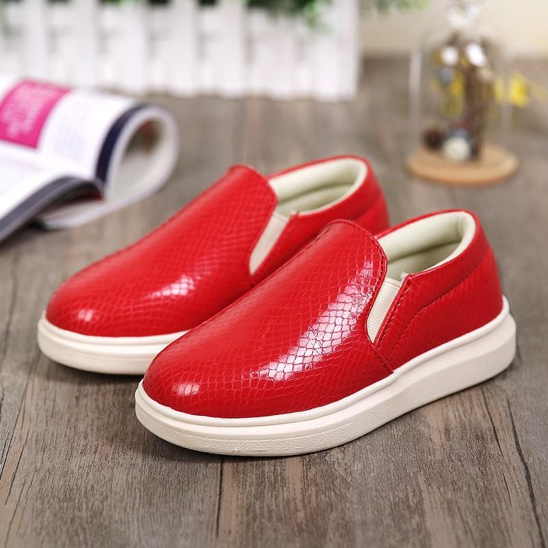 สีแดงสดใส สดใส รองเท้าเด็ก รองเท้าคัชชู ผู้หญิง รองเท้าผู้หญิง รองเท้าเด็ก รองเท้า ผ้าใบเด็ก รองเท้ากีฬา สาวอวบ น่ารัก