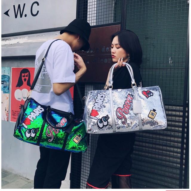 กระเป๋าเดินทางล้อลาก Luggage ️ ️ แบบถือ  + สะพายได้ ️  ( งานจริงสวยมากๆ) กระเป๋าล้อลาก กระเป๋าเดินทางล้อลาก