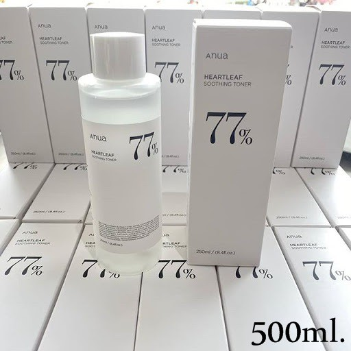 ❤️ANUA Heartleaf 77% Soothing Toner 500ml.❤️ .