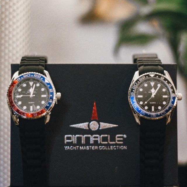 PINNACLE นาฬิกาข้อมือทรงสปอร์ต ☔️กันน้ำ☔️🔥โปรโมชั่นแถมฟรี🔥สายสแตนเลส จ้าาา