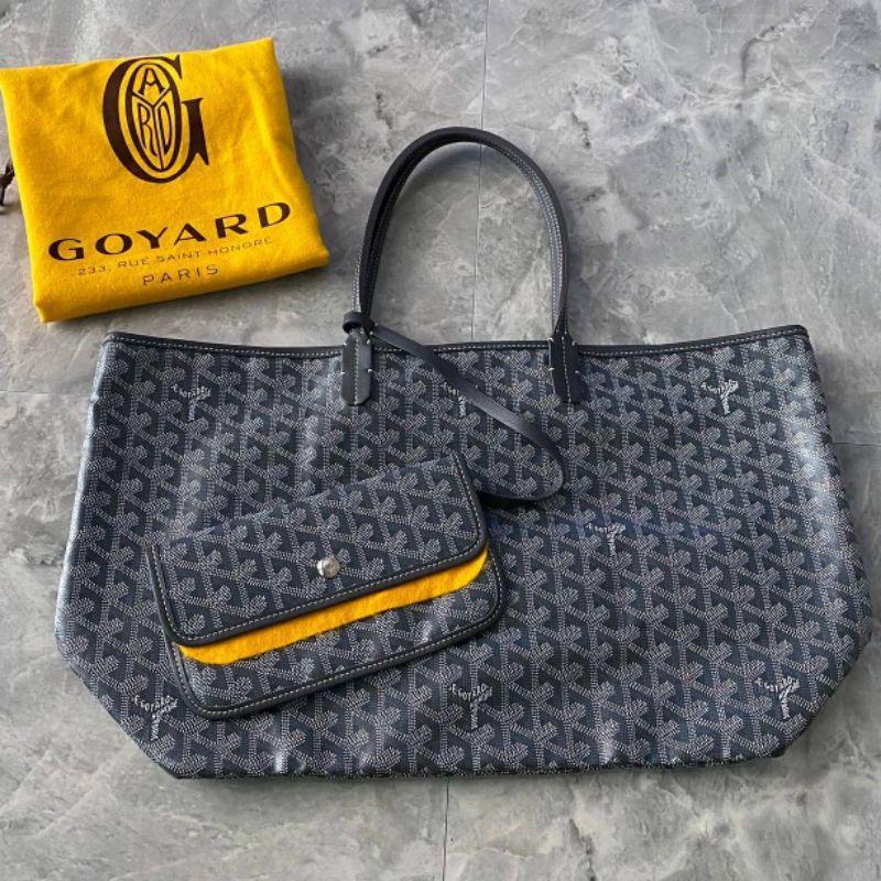 Used like new Goyard PM Tote Grey