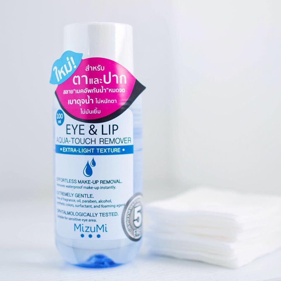 Mizumi eye & lip aqua-touch remover มิซูมิ อาย แอนด์ ลิป เมคอัพ รีมูฟเวอร์  | Shopee Thailand