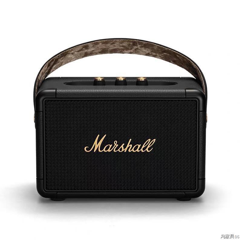 ลําโพง Marshall Kilburn II Black - marshall ลำโพงบลูทูธ มาร์แชล Kilburn II ลำโพง รุ่นที่2 ลำโพงคอมพิวเต ประกัน 1 ปี