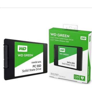 Review SSD 120GB  WD GREEN รับประกัน 3ปี