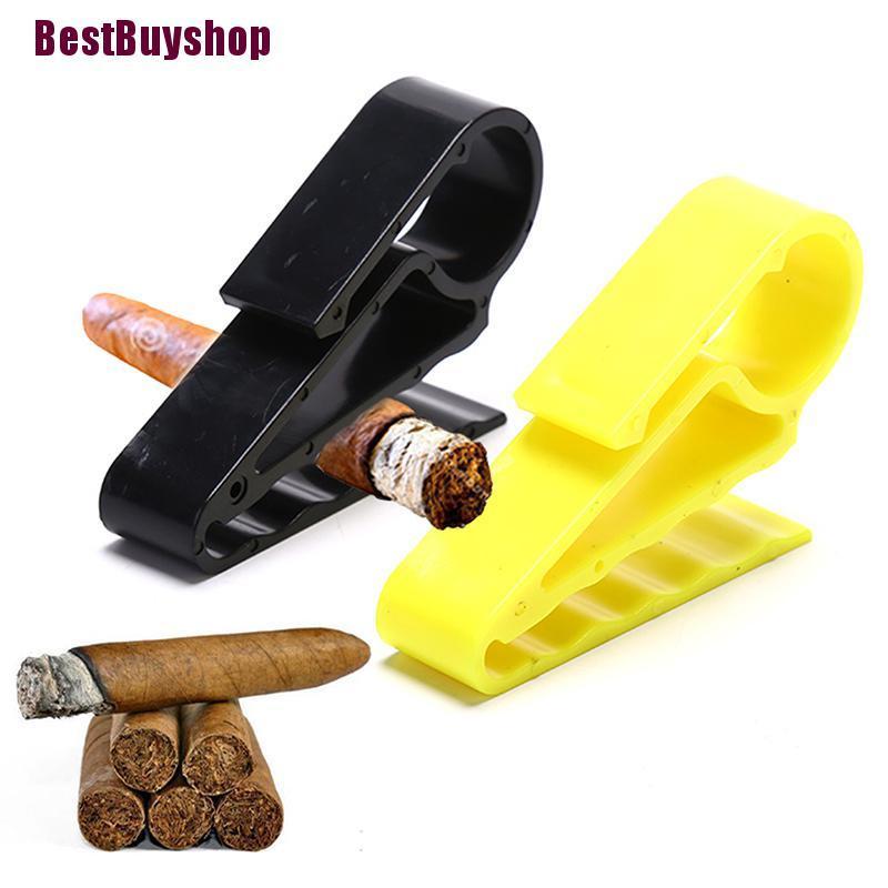 [BestBuyshop]1PCS Cigar Holder Golf Clips Clamp Boat Minder Grip Clip Cigarette Clamp Glory