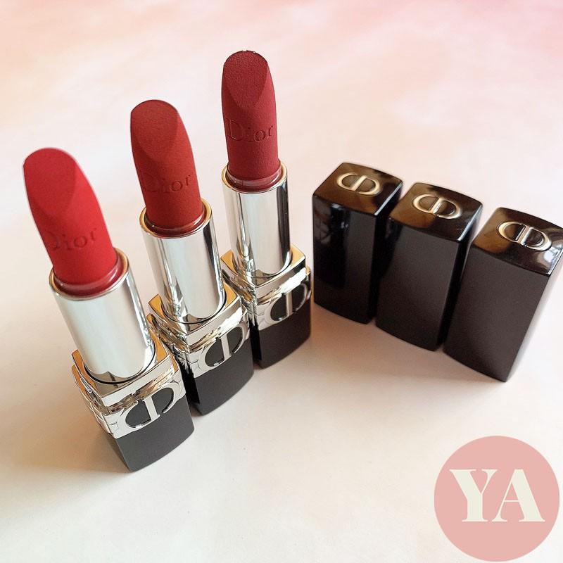 Y.A🌸 ของแท้ ลิป ดิออร์ ลิป DIOR DIOR Rouge Dior Lipstick 3.2g 999 888 080