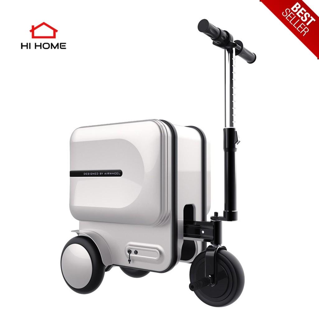 HiHome Airwheel SE3 (Silver) กระเป๋าเดินทางอัจฉริยะที่คุณสามารถขับขี่ไปได้ด้วย รับประกันศูนย์ไทย 1 ปี กระเป๋าล้อลากไฟฟ้า