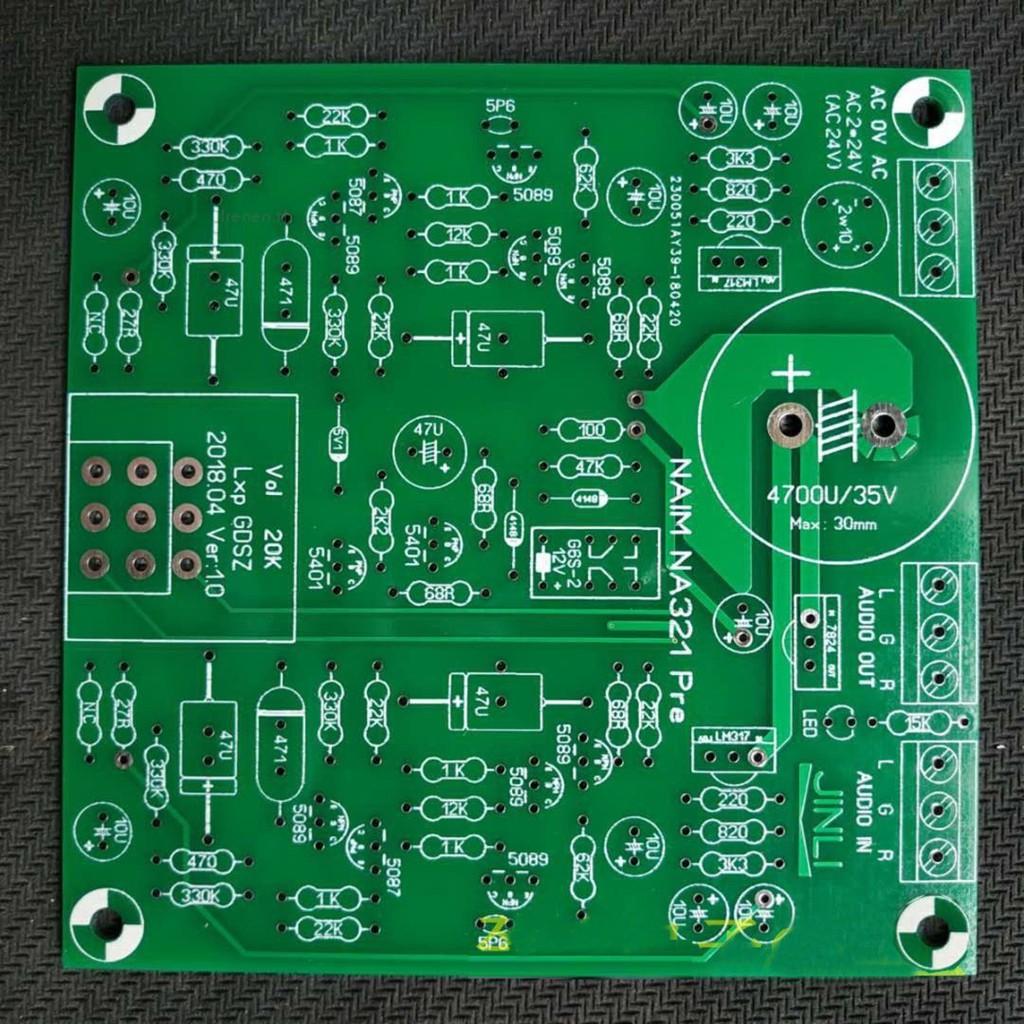 ?Irenen?DIY Naim NA321 Preamp Preamplifier Board Bare PCB for NAC32~NAC252