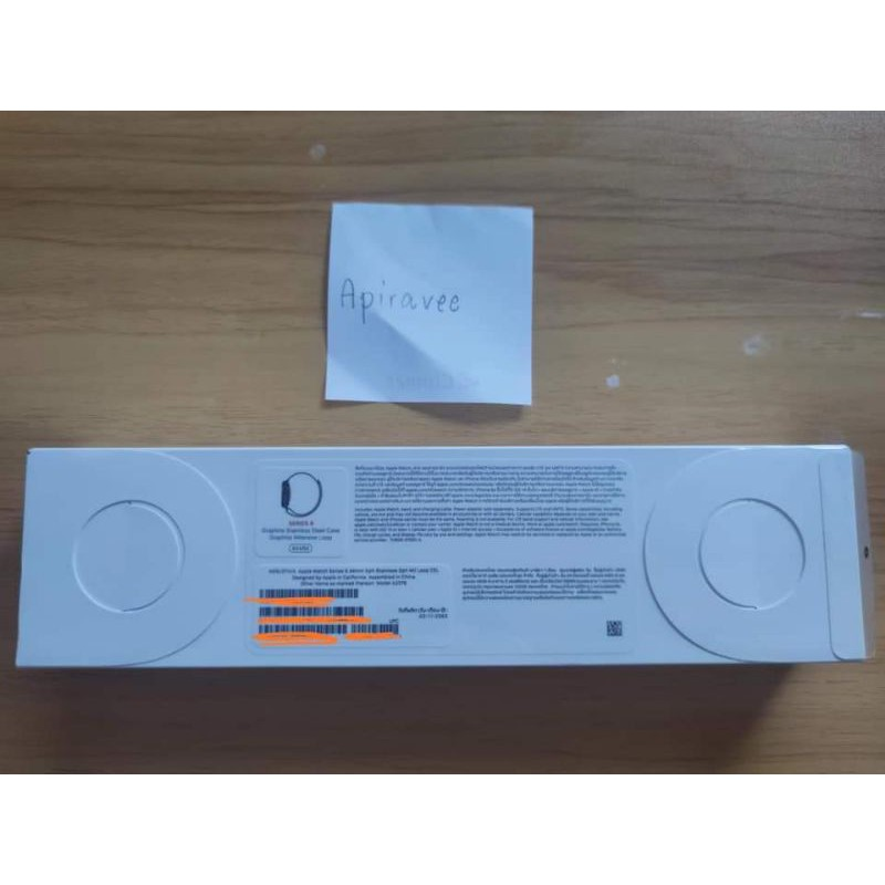 Apple Watch series 6 สีgraphite stainless steel case graphite milanese loop 44mm