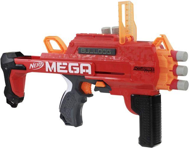 NERF Accustrike Mega Bulldog Blaster Toy Gun ปืนเนิร์ฟ Iced
