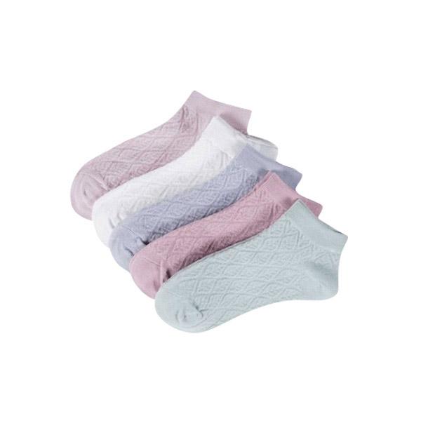 ถุงเท้าข้อต่ำ สีสันสดใส แฟชั่นสำหรับ Unisex