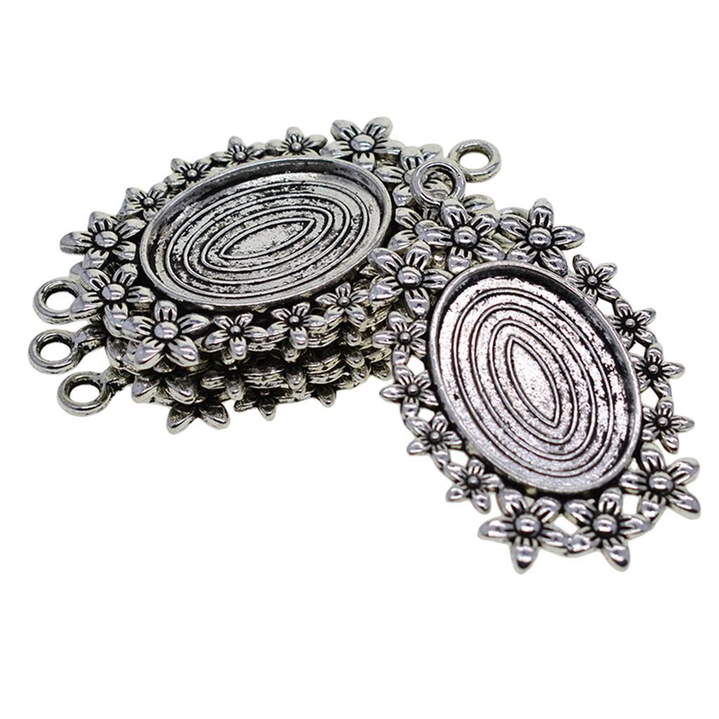 1 grand Connecteur entre-deux Rond 29.5x35.5mm Perle apprêt création bijoux A248