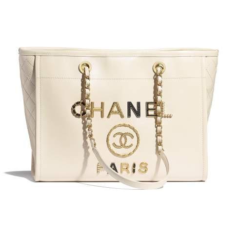 Chanel / แบบใหม่ / กระเป๋าช้อปปิ้ง / กระเป๋าเดินทาง / กระเป๋าถือผู้หญิง / กระเป๋าสะพาย / ของแท้ 100%