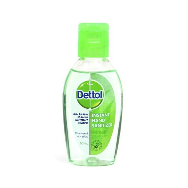 เจลล้างมือ dettol 50 มล. ลดการสะสมแบคทีเรีย
