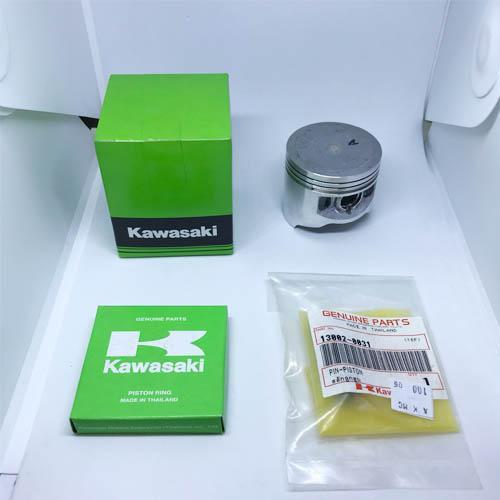 KAWASAKI แท้ศูนย์ ชุดลูกสูบ แหวน และ สลัก สำหรับ CHEER (ลูกสูบเบอร์ 0 ขนาด 53 มิล)