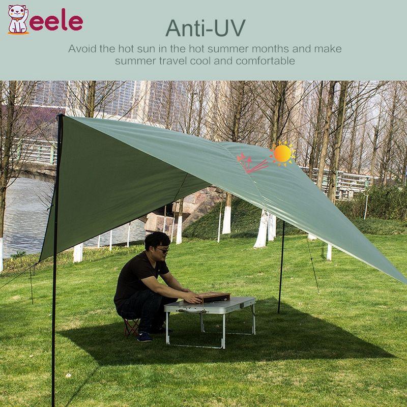2 Man Person Pop Up Camping Tent Anti-UV Hiking Beach Garden Shade Sun Shelter