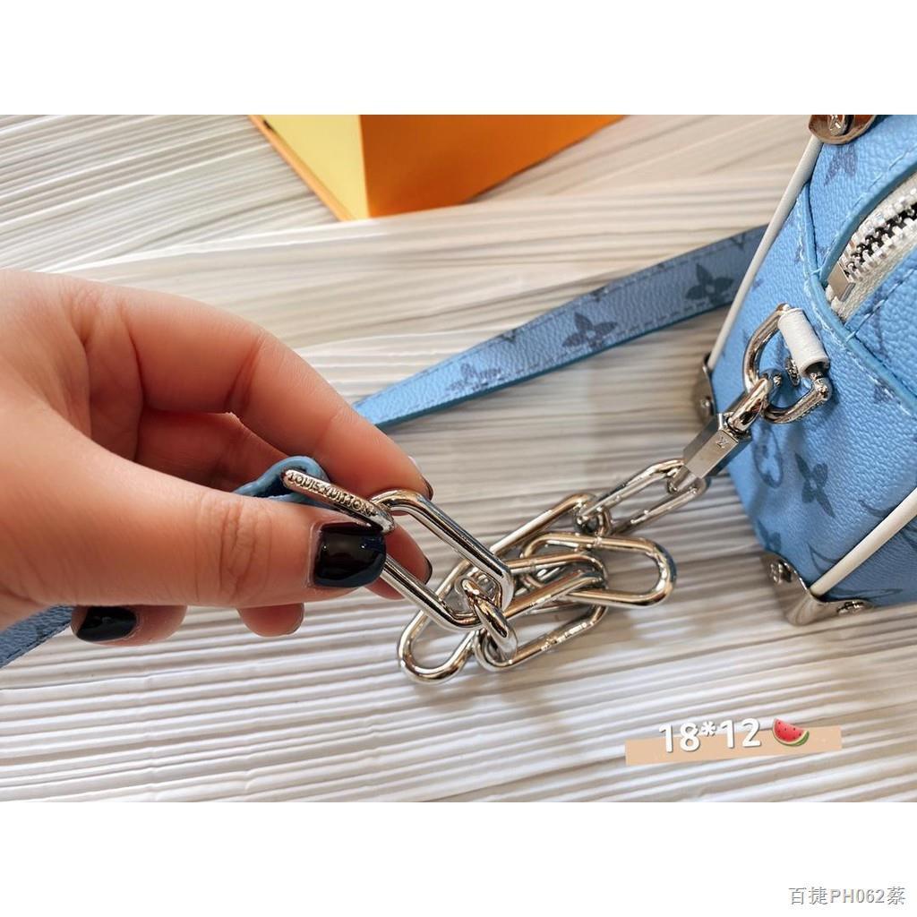 ส่วนลดจำกัดเวลา♙☌【Quick Shipping】lv กระเป๋ากระเป๋าเดินทางใบเล็กรุ่นใหม่ล่าสุดปี 2021 กระเป๋าสะพายข้างผู้หญิง
