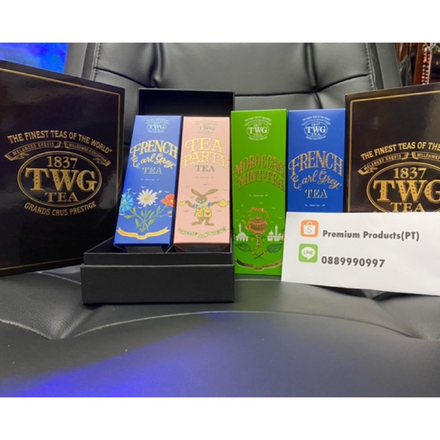 ชา TWG French Earl Grey , Mint , Tea Party