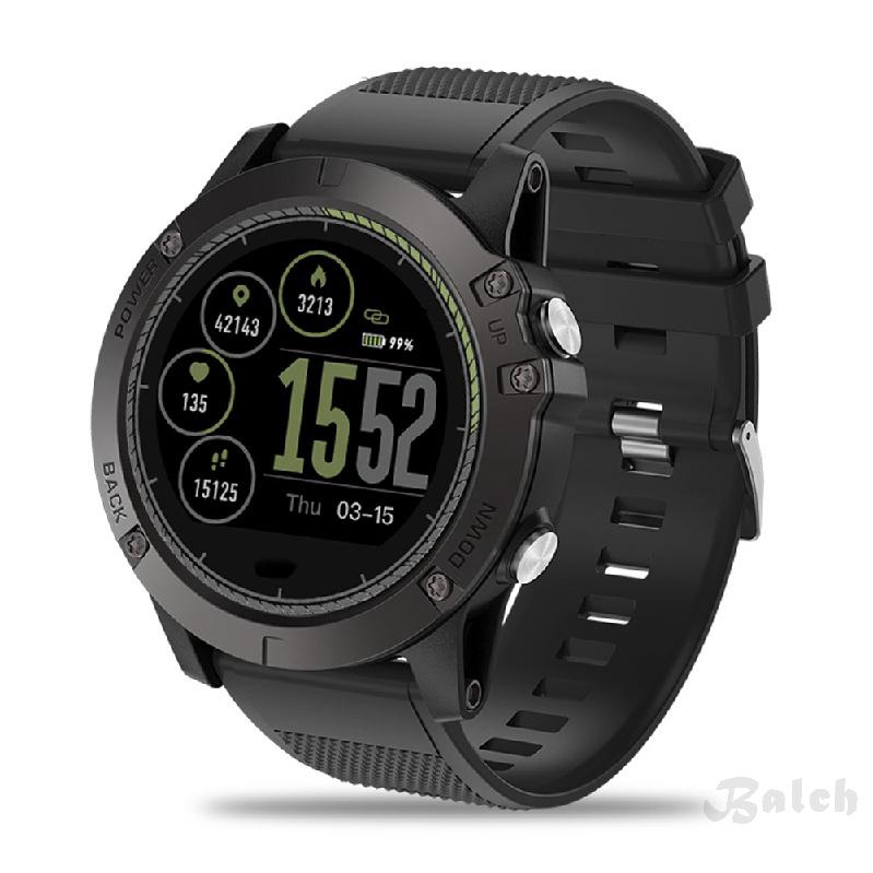 Zeblaze Vibe 3 HR Sports Smart Watch - ทนทาน Inside Out HR Monitor UI 3D บันทึกกิจกรรมตลอดทั้งวัน 1.22 'IPS Smart Watch
