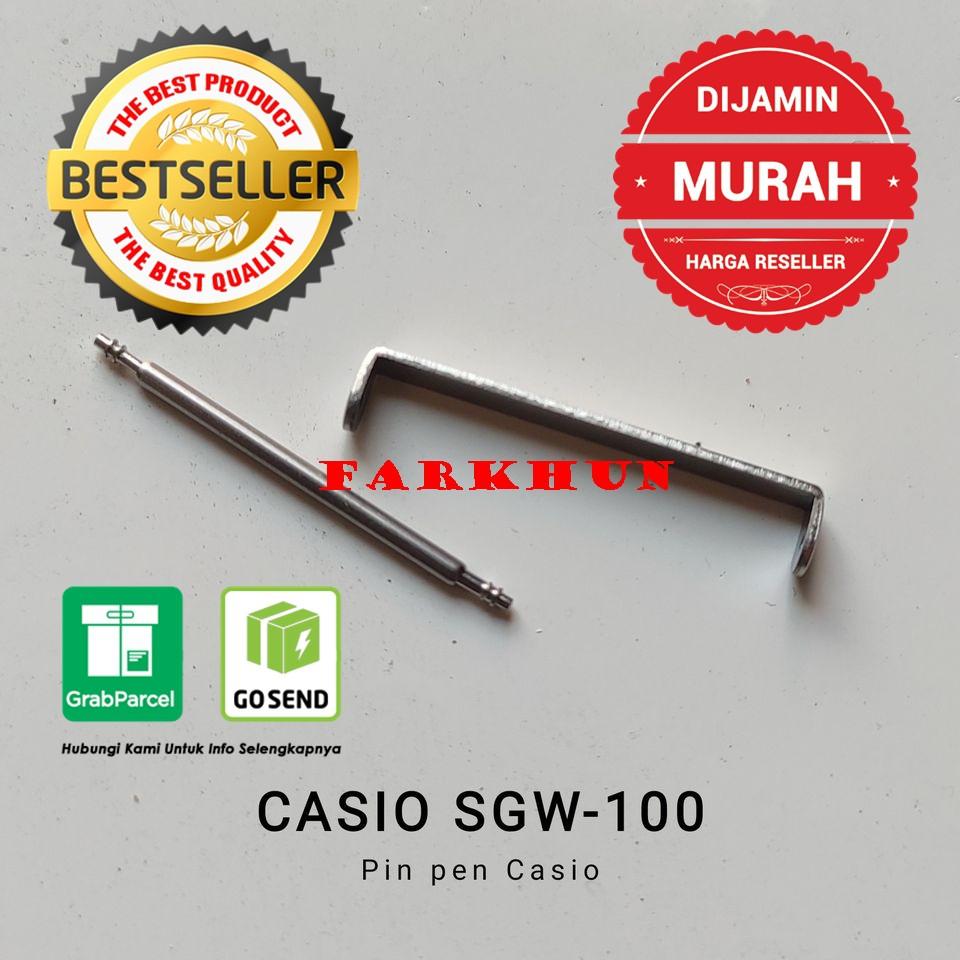 สายนาฬิกาข้อมือสแตนเลส Casio Sgw 100 Sgw 100 Sgw 100