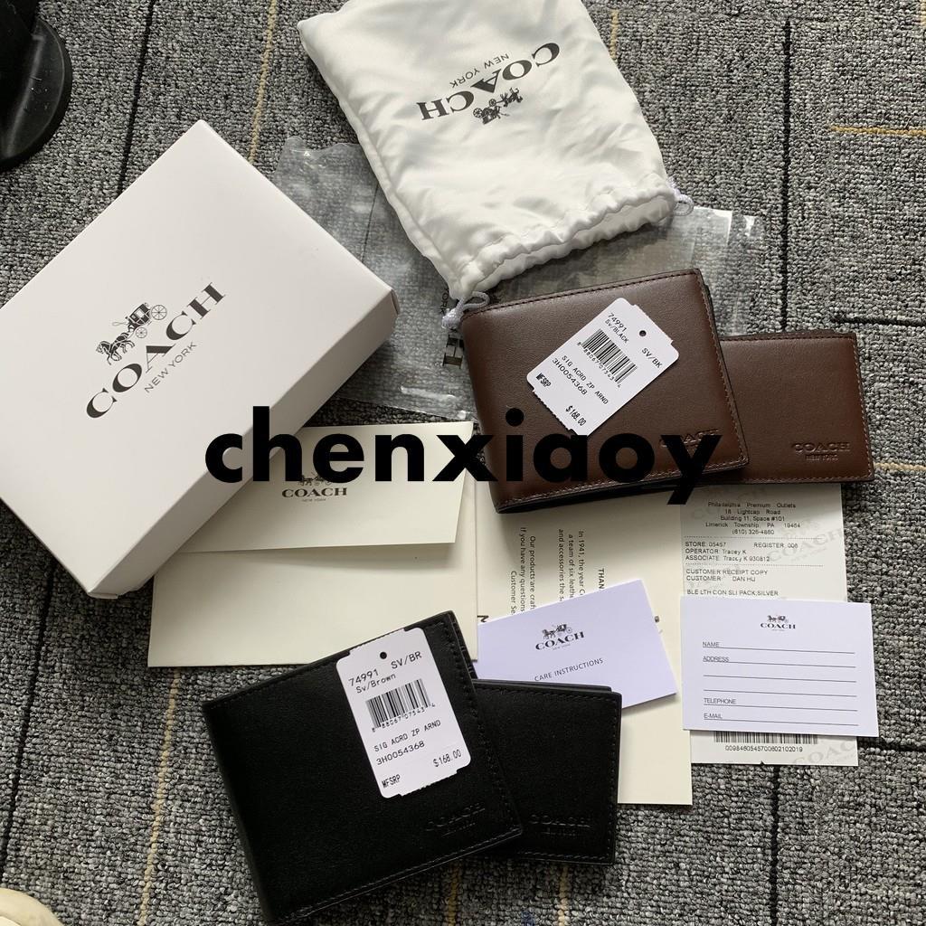 Coach กระเป๋าสตางค์  F74991 กระเป๋าสตางค์  กระเป๋าสตางค์ใบสั้น