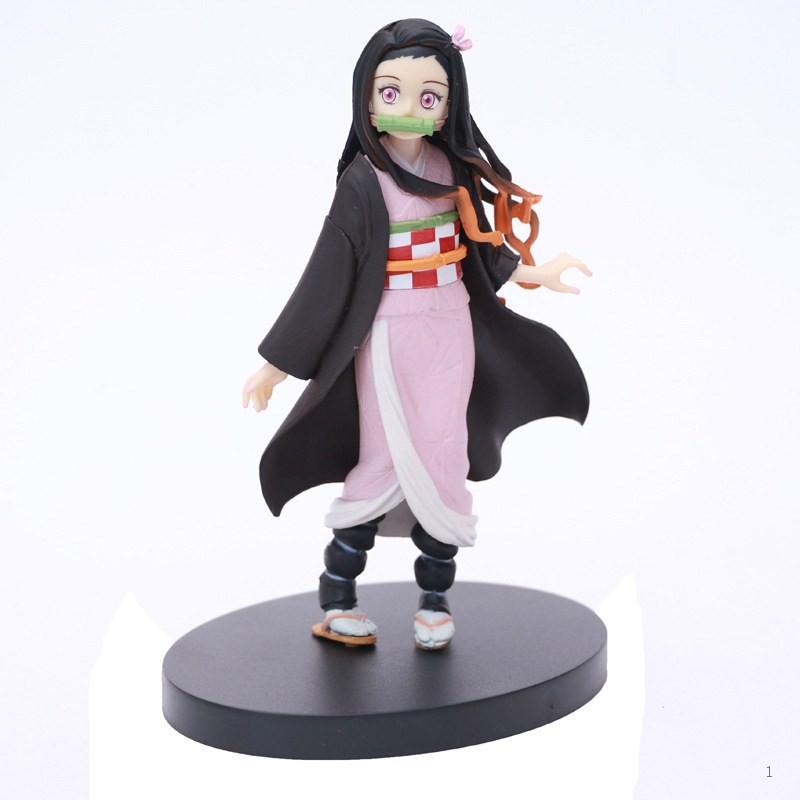 Demon Slayer Blade Kizuna Nozomi Kadomon Tanjiro Nidouzi Boxed Figure Puppet Model Base Decoration