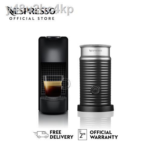 เครื่องทำกาแฟ▧Nespresso เครื่องชงกาแฟ รุ่น Essenza Mini Bundle C Range