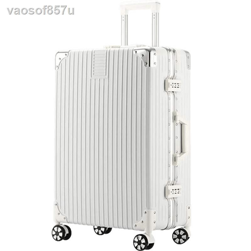 กระเป๋าเดินทางTrolley case universal wheel 24 inch suitcase female small 20 student travel code leather large capacity