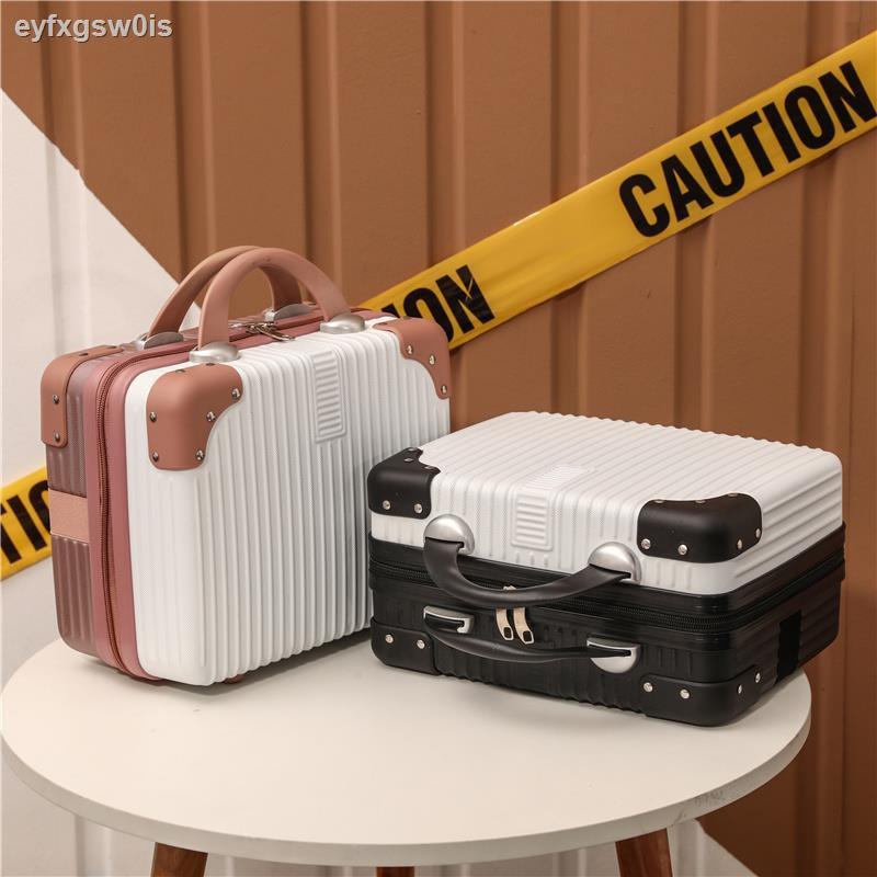 กระเป๋าเครื่องสำอางค์♨◑14 นิ้วกระเป๋าเดินทางขนาดเล็กกระเป๋าเครื่องสำอางกระเป๋าเดินทางกระเป๋าเดินทางขนาดเล็กหญิง 16 นิ้วก
