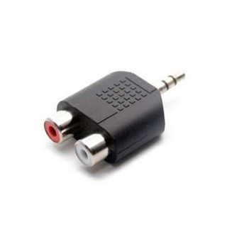 Review Di shop 3.5mm Jack Stereo Male To 2 RCA Plug Female Adapter M/F Y Splitter RCA Audio Adapter Connector 3.5mm Audio Cable