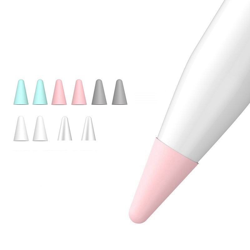 10Pcs Silicone Replacement Tip Case Protective Cover for Apple Pencil 1St 2Nd Touchscreen Stylus Pen Case CKwt