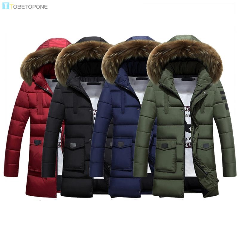 af46da836 Winter Mens Zipper Pocket Hooded Jacket Coat Outwear Big Tall Long Top  Overcoat
