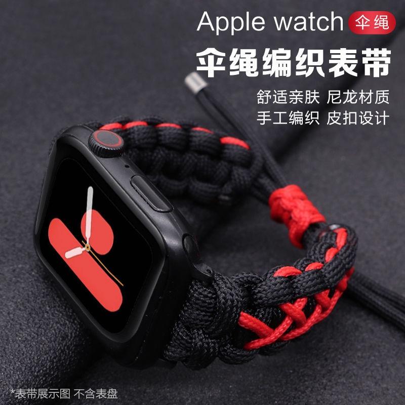 applewatch สาย บังคับapplewatchแอปเปิ้ลนาฬิการ่มเชือกถักสายไนลอนiwatchSE6543แทนที่ด้วยกีฬา