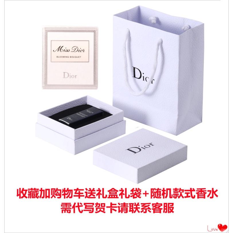 ✔♣[ผลิตภัณฑ์ใหม่] Genuine Dior/Dior Blue Gold Lipstick velvet 999 matte red lipstick moisturizing 520 888 740 【จัด ส่งฟร