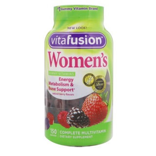 VitaFusion Women's multivitamin 150 หรือ 70 gummies