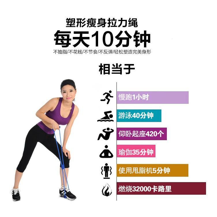 ยางยืดออกกำลังกาย ยางยืดเลข 8 ยางยืดบริหารร่างกาย  ฟิตเนส ผ้ายืดออกกำลังกาย ยางยืดแรงต้าน  ยางยืดออกกำลังกายแรงต้านสูง