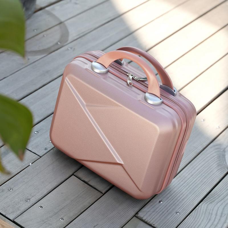 🔥กระเป๋าเดินทาง14-กระเป๋าแต่งหน้าขนาดนิ้ว บุคลิกภาพนางสาวกระเป๋าเดินทาง เบา กระเป๋าเดินทางสั้น กระเป๋าเดินทาง  QnGm