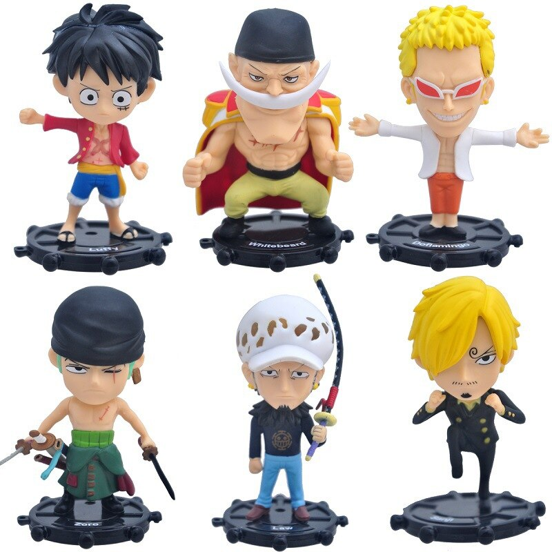 10CM PVC ONE PIECE Garage Kit 85 Generation 6 Models a Pirate Garage Kit Cute Doll Figure Toys Cute Gift Cool Thing