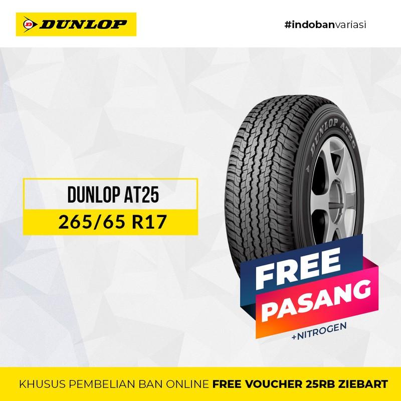 อุปกรณ์เสริมสําหรับรถจักรยานยนต์ Dunlop At25 265 / 65 Sr17 R17