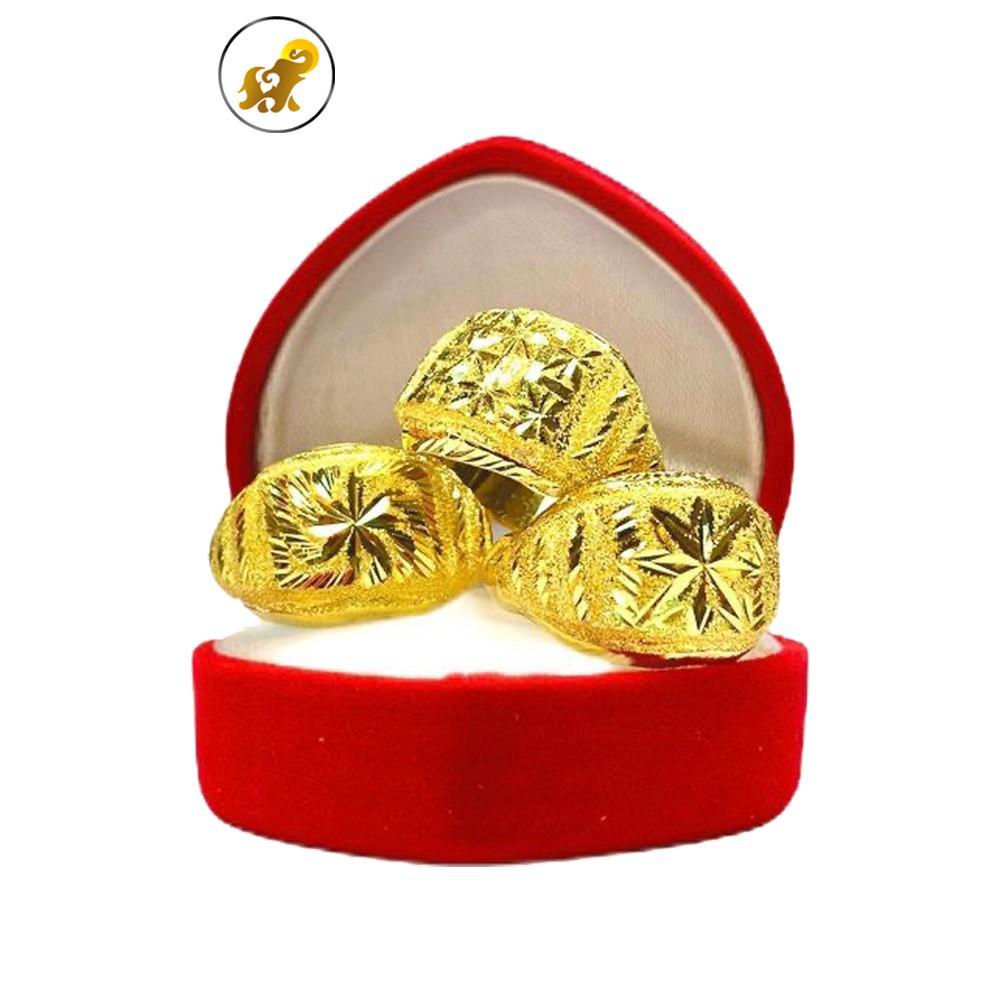 ราคาพิเศษ◕✾☸PGOLD แหวนทอง 1 สลึง เลือกลายทักแชท หนัก 3.8 กรัม ทองคำแท้ 96.5% มีใบรับประกัน