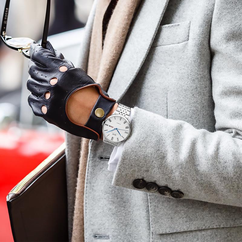 エ≑สายนาฬิกา smartwatchสายนาฬิกา gshockสายนาฬิกา applewatchแบรนด์สวิสAi wochi IWนาฬิกาผู้ชายธุรกิจผู้ชายเข็มขัดเหล็กนาฬิก