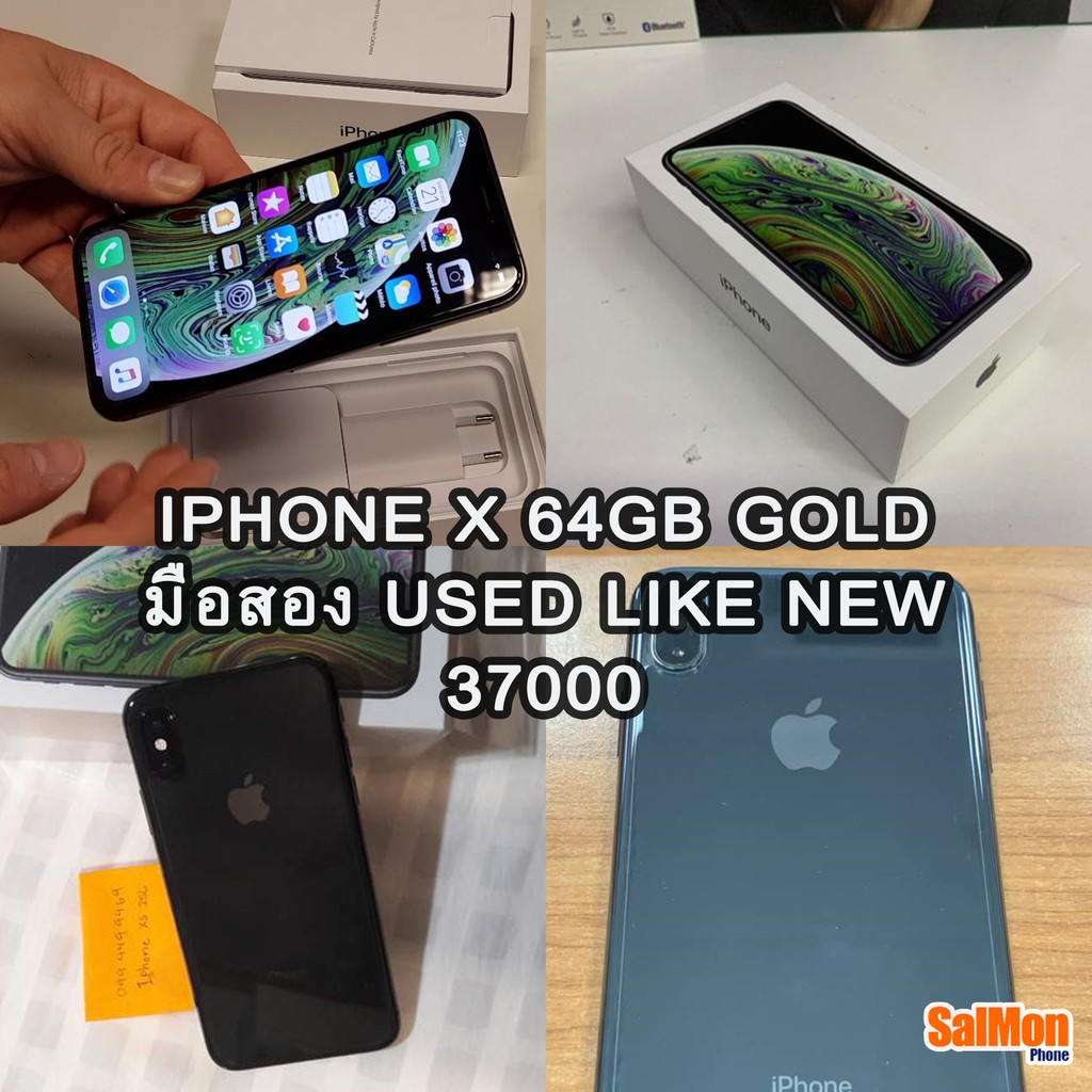 iphone xs 64GB black มือสอง สภาพนางฟ้า