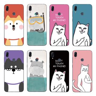 Review Cute Animal Couple Back Cover Asus Zenfone Max Pro M2 ZB631KL / ZB633KL Soft TPU Case