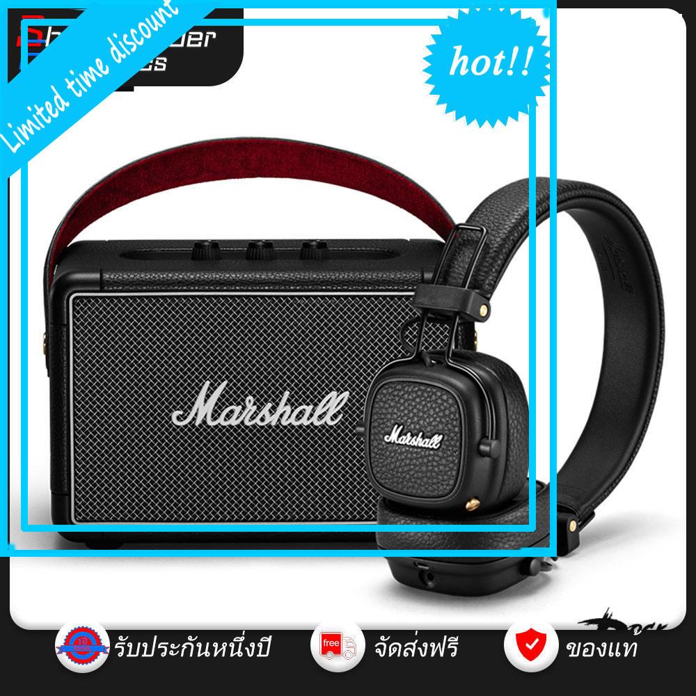 hot(ซื้อ 1 ฟรี 1) Marshall Kilburn II + Major III ชุดหูฟังบลูทู ธ ลำโพงบลูทู ธ สูท Sheepherder electronics