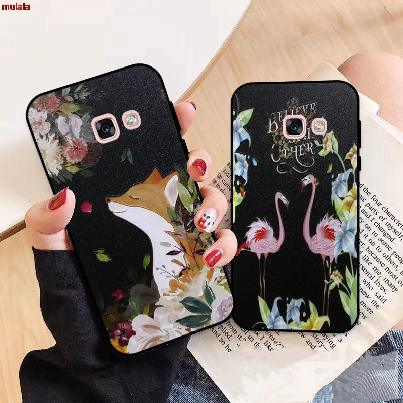 Samsung A3 A5 A6 A7 A8 A9 Pro Star Plus 2015 2016 2017 2018 HDXL Pattern-3 Silicon Case Cover
