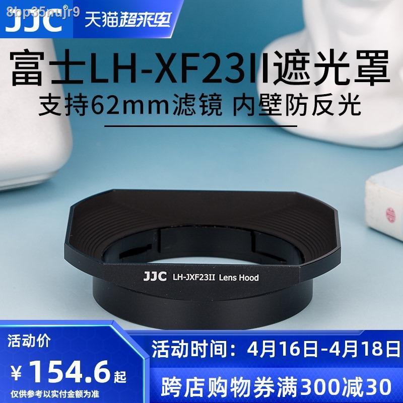 ฮูดกล้อง✌JJC ใช้ Fuji LH-XF23 เลนส์ฮูด XF 23 มม. f1.4 เลนส์ 56 F1.2 R / XF56mm APD กล้อง XT30 XT3 XT20 โลหะสี่เหลี่ยม 62